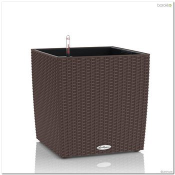 Donica Lechuza CUBE COTTAGE - mokka - 30 cm - all inclusive