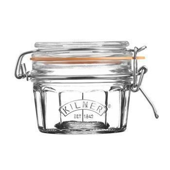 Kilner - Słoik 0,25l Facetted Clip Top Jar