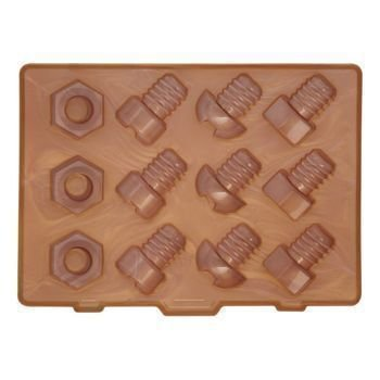 Kitchen Craft - Foremka do lodu NUTS & BOLTS