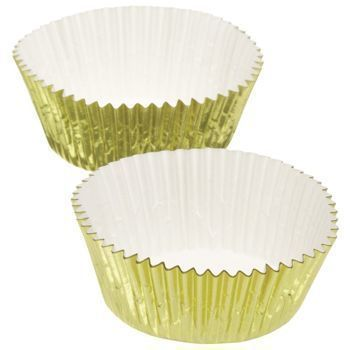 Kitchen Craft - Papilotki GOLD 7 cm - 24 szt