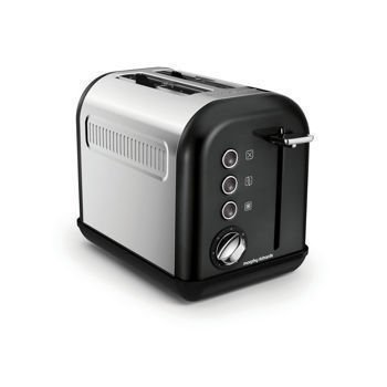 Morphy Richards - Toster Accents na 2 kromki - czarny