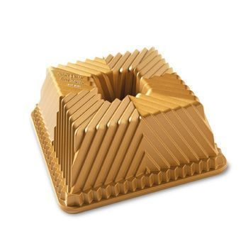 Nordic Ware - Forma do babki SQUARED GOLD
