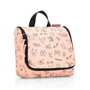 Reisenthel - Kosmetyczka Toiletbag - kids cats and dogs rose