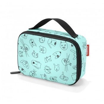 Reisenthel - Torba na jedzenie Thermocase -  kids cats and dogs mint