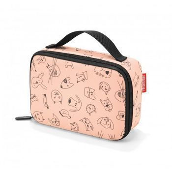 Reisenthel - Torba na jedzenie Thermocase -  kids cats and dogs rose