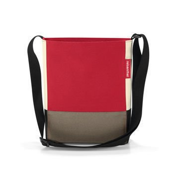 Reisenthel - Torba na ramię Shoulderbag S - Patchwork Red