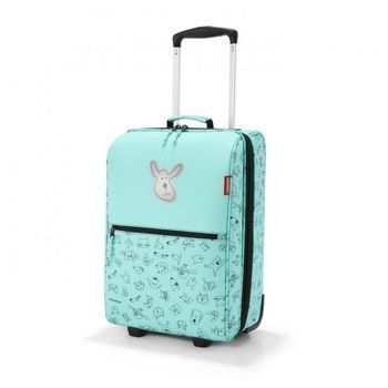 Reisenthel - Walizka trolley XS kids cats and dogs mint