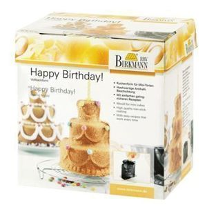 Birkmann - Forma do ciasta 3D HAPPY BIRTHDAY