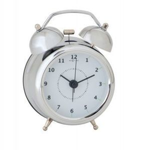Budzik Wake Up silver, 9 cm