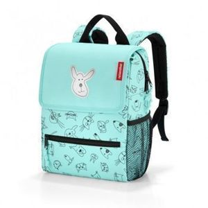 Reisenthel -  Plecak backpack - kids cats and dogs mint