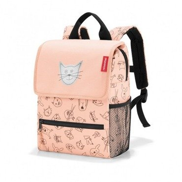 Reisenthel -  Plecak backpack - kids cats and dogs rose