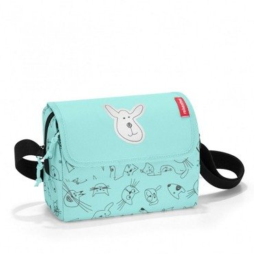 Reisenthel - Torba everydaybag - kids cats and dogs mint